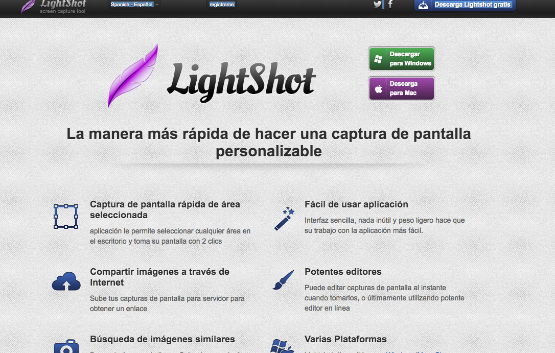 Lightbox plugin for screen shots