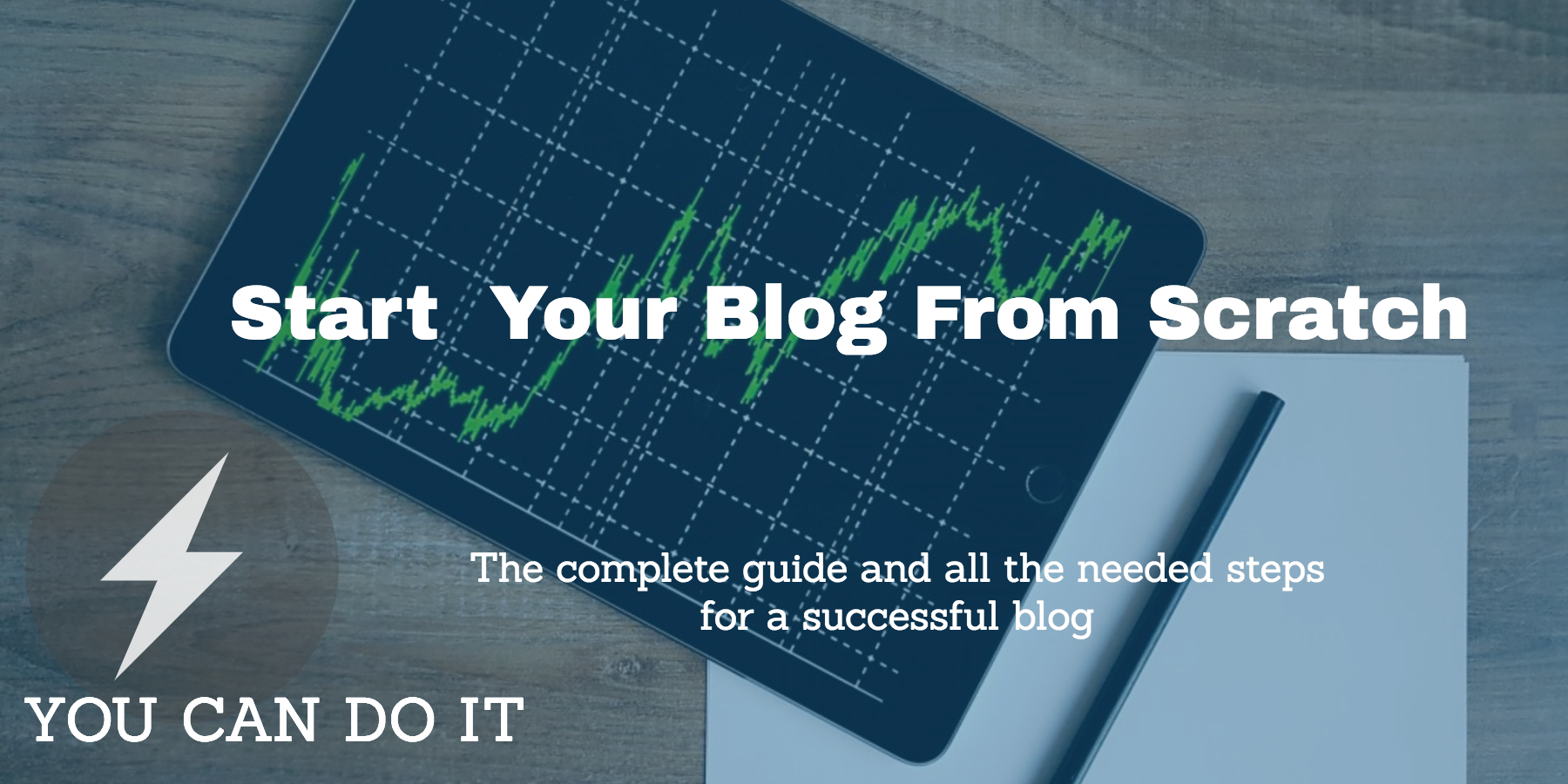You can start your blog