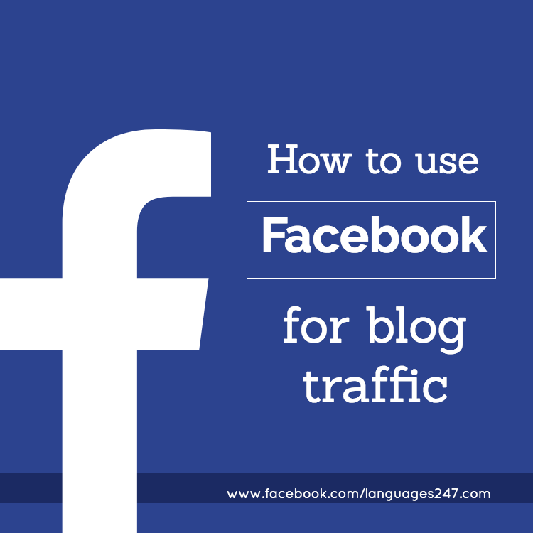 how to use facebook for blog traffic