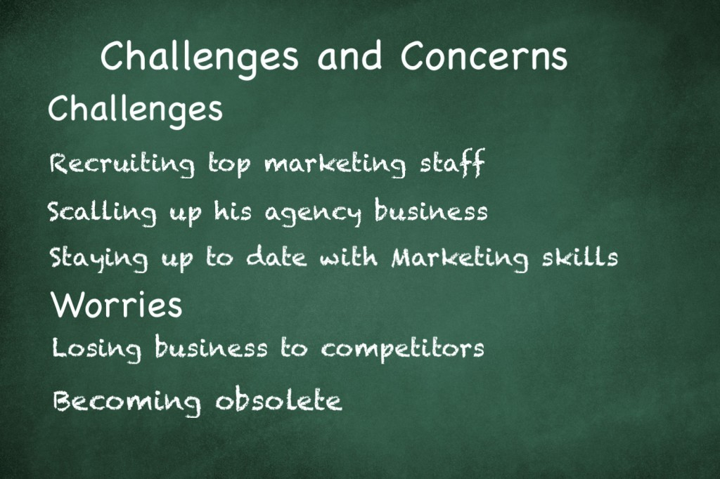 Challenges and Concerns of the customer avatar