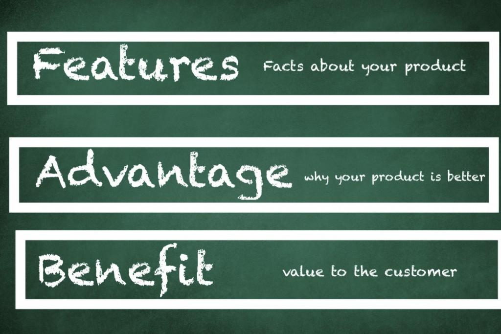 feature advantage benefit