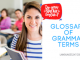 GLOSSARY OF GRAMMAR TERMS