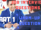 Job Interview Tips Part 1 warm-up questions languages247