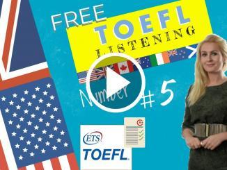 Toefl Listening section
