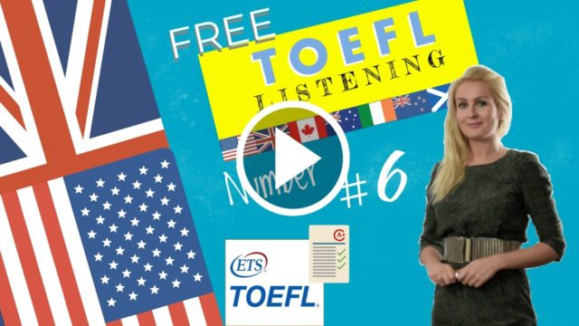 How many toefl listening question types are there?