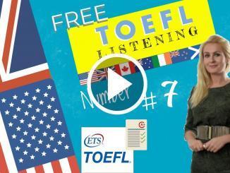 toefl listening section format