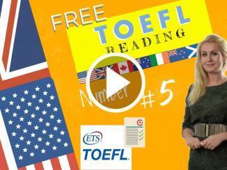 The toefl reading score