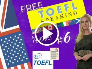 toefl speaking examples