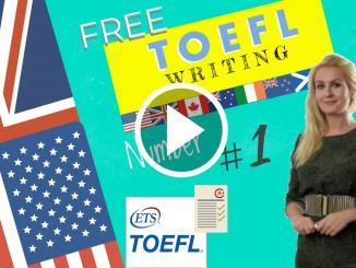 toefl writing samples