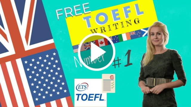 TOEFL WRITING  samples for the ibt toefl test