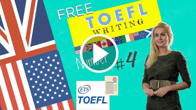 Toefl Writing 4