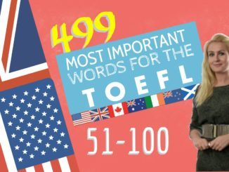 499 most important words for B2 level Part 2