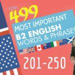 499 most important words for B2 English