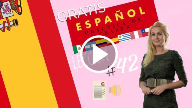 Curso español gratis práctica de frases 42