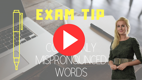 exams tip 40 COMMONLY MISPRONOUNCED WORDS-2