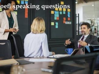 toefl speaking questions explained