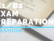 B1_B2 Exam preparation FASHION