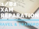 B1_B2 Exam preparation Travel