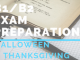 B1_B2 Exam preparation-halloween