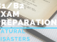 B1_B2 Exam preparation- natural disasters