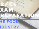 B2_C1 Exam preparation THE FOOD INDUSTRY