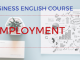 Employment Business English Lesson