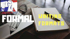 English formal Writing Formats-2