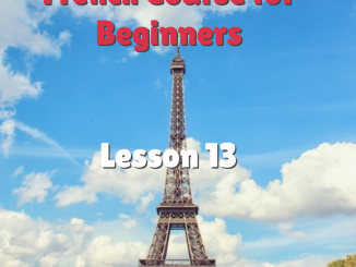 IR verbs in French