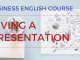 Giving a killer Presentation Business English Lesson
