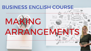 Making Arrangements Business English Lesson