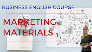 Marketing Materials Business English Lesson
