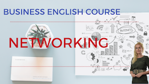 Networking Business English Lesson